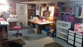 Fabric Storage Tip For Your Sewing Room Space