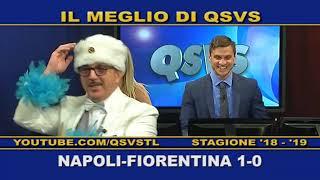 QSVS - I GOL DI NAPOLI - FIORENTINA 1-0  - TELELOMBARDIA / TOP CALCIO 24