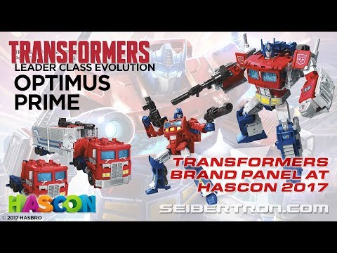 HASCON 2017: Transformers Brand Panel featuring Dinobots, Optimus Prime, and more!