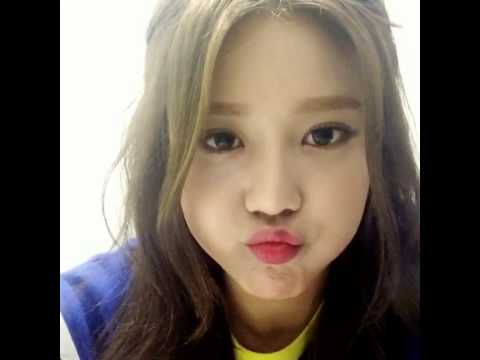 AOA HyeJeong's Instagram video -  9.5KB
