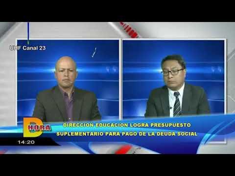 Entrevista - Informe sobre el Crédito Suplementario ante el MEF