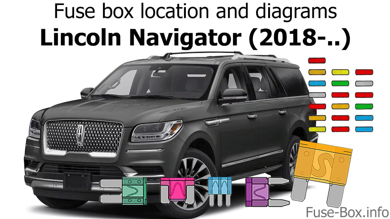medium resolution of fuse box location and diagrams lincoln navigator 2018