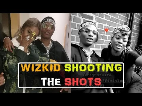 """🔥 NEW 🔥 Wizkid chilling Girlfriend """"TIWA SAVAGE"""" & Some Hot Dancers in """"TO THE MAX"""" shoot"""