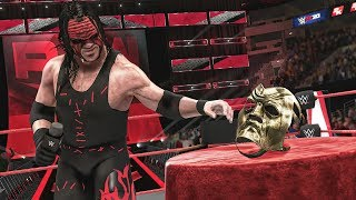 KANE REVEALS THE GOLDEN NIGHTMARE MASK! | WWE 2K20 Universe Mods