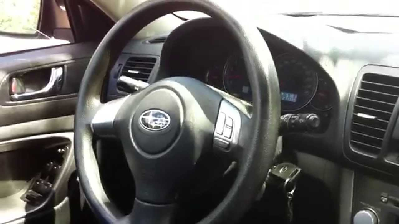 2009 Subaru Legacy Station Wagon Startup Engine  In Depth Tour