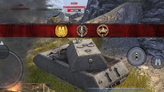 World of Tanks Blitz - Maus aced