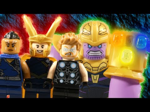 LEGO AVENGERS INFINITY WAR PART 9 - THE SPACE STONE - MARVEL STOP MOTION