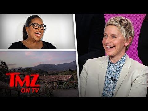 Ellen And Oprah Are Actual Neighbors | TMZ TV
