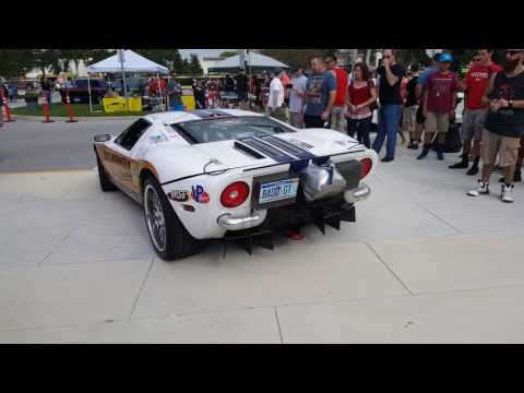 WORLDS FASTEST STREET LEGAL CAR 1800 HORSEPOWER START UP AND