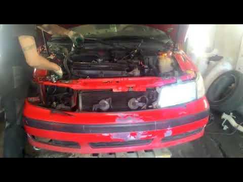 Снятие мотора Saab 9-5
