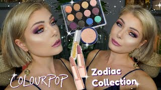 Kathleen Lights x Colourpop Zodiac Collection | First Impression