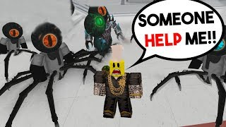 SPIDERS TAKE OVER THE SCHOOL! (Roblox Robloxian Highschool)