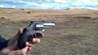 Smith and Wesson Model 60 Shooting