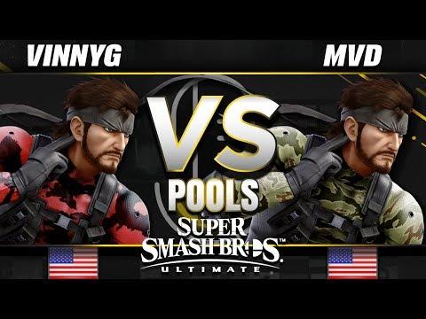 Vinny G (Snake) vs. MVD (Snake) - Ultimate Pools - SC United