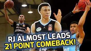 RJ Hampton TAKES OVER In The 4TH QUARTER! Almost Completes 21 POINT COMEBACK! 🤑