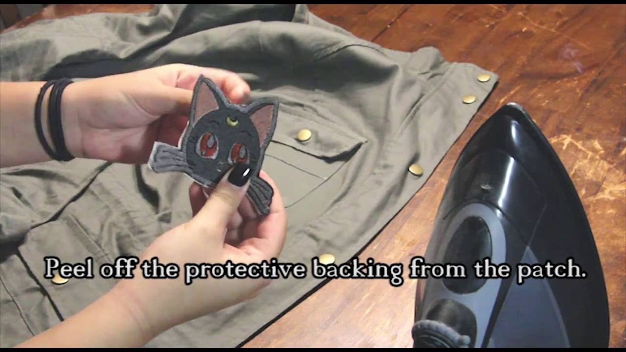How To Apply An Iron On Patch