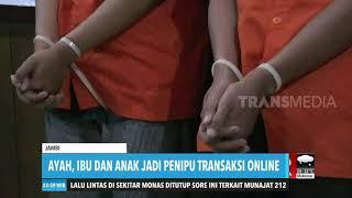 Ayah, Ibu, dan Anak jadi Penipu Transaksi Online
