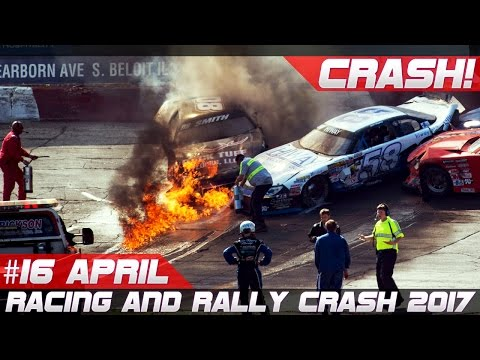 Racing and Rally Crash Compilation Week 16 April 2017