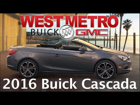 Review: The All New 2016 Buick Cascada Convertible Minneapolis, Saint Paul, Monticello, St Cloud, MN