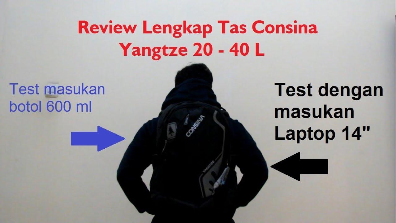 Consina Daypack Laptop Yangtze Daftar Harga Terbaru Dan Terlengkap Algarve Hitam Merah Reciew Outdoor Review Lengkap Tas 20 40 Ml