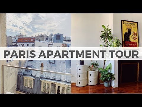 PARIS APARTMENT TOUR... WITH A VIEW! 🤩 | My new 1-bedroom home in Paris ♥️  | María Pasca