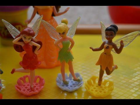 Открываем с Аней Киндер сюрпризы Фея Динь Динь Disney Fairies серия 4
