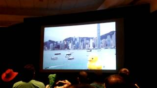 Crowd Reaction of Bubberducky 2 - YouTube Hell at SGC 2014