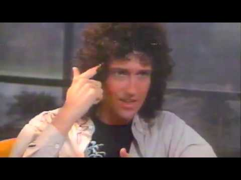 BRIAN MAY INTERVIEW 1986 (RTE)