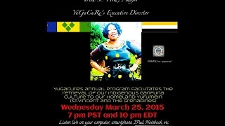 Garifuna Music & Talk With DJ Labuga Presents Trish St  Hill