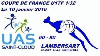 20160110 coupe de France 32 UASaint Cloud 60 50 LBLM