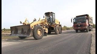 Строительство дороги в Еткульском районе
