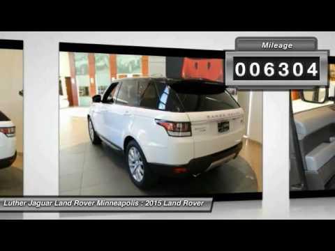 2015 Land Rover Range Rover Sport Minneapolis, Golden Valley, St ...