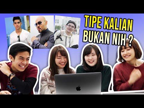 REAKSI CEWEK JEPANG LIAT YOUTUBER & AKTOR INDONESIA 2! (ERPAN, DEDDY CORBUZIER, DLL)