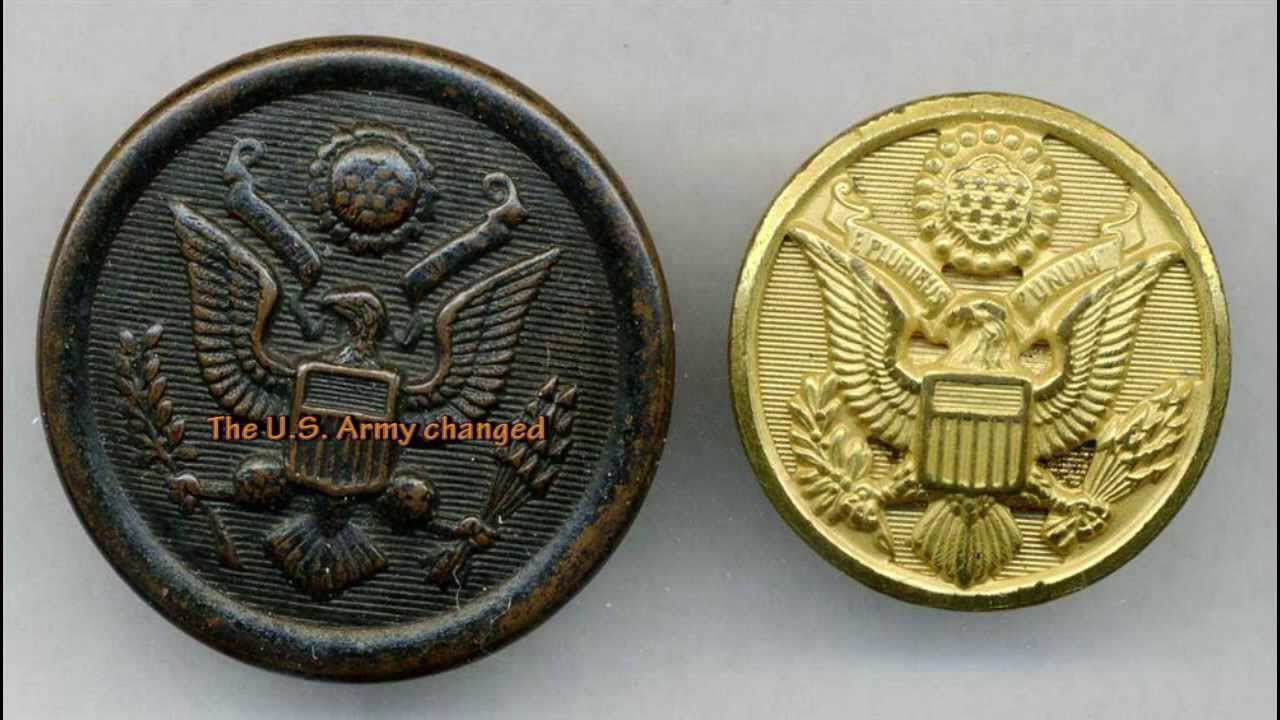 American Army WW2 Eagle Buttons Relics