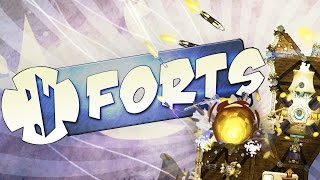 THE GREATEST FORT DESTRUCTION!! - Forts Multiplayer Gameplay - 2 VS 2 (Forts Game)
