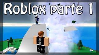 Jogando Roblox - Disastres Naturais - Parte 1