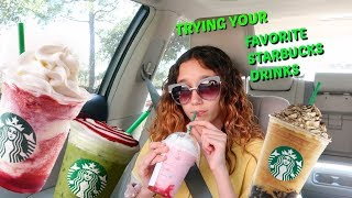 MY INSTAGRAM AND TIK TOK FOLLOWERS PICK  MY STARBUCKS DRINK FOR A WEEK !