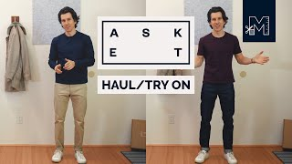 ASKET Haul Try-On, Round 2 // High Quality Basics for Men