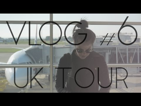 VLOG #6 | Trip to London | UK TOUR 2016