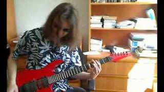Edguy - Lavatory Love Machine (guitar cover)