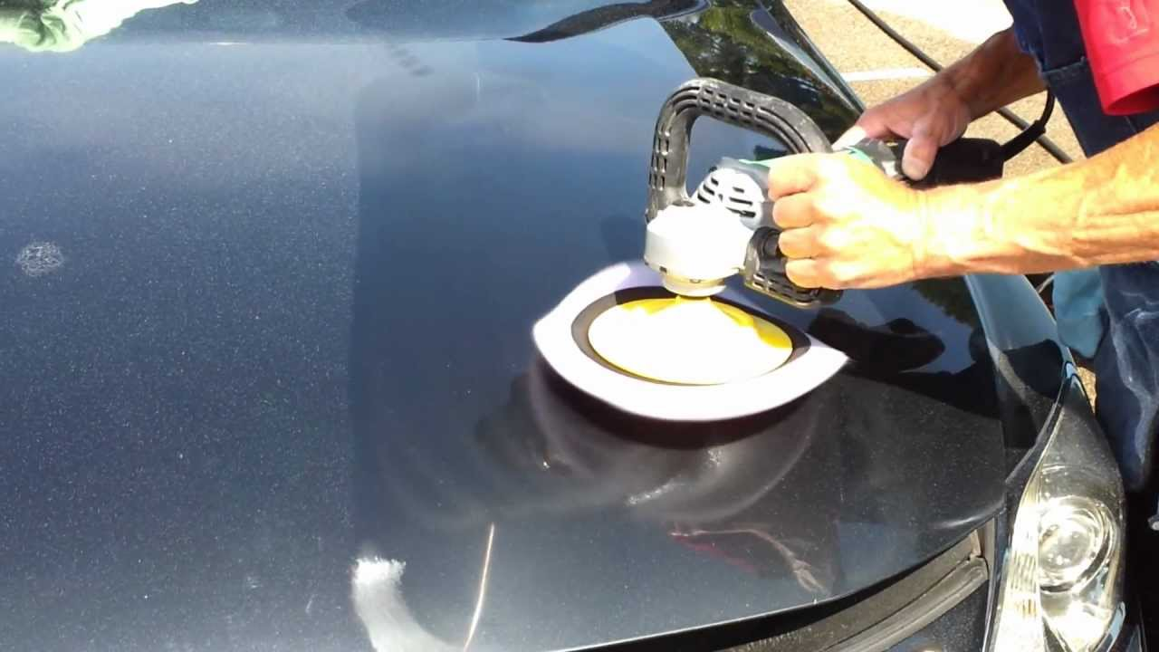 High Speed Polishing Buffing To Remove Oxidation And