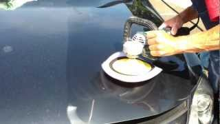 High speed polishing, buffing, to remove oxidation and scratches.