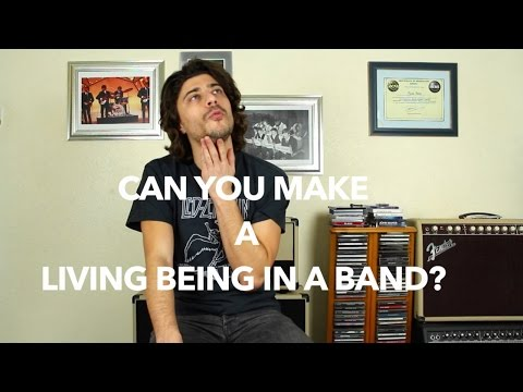 Can You Make A Living Being a Musician In A Band