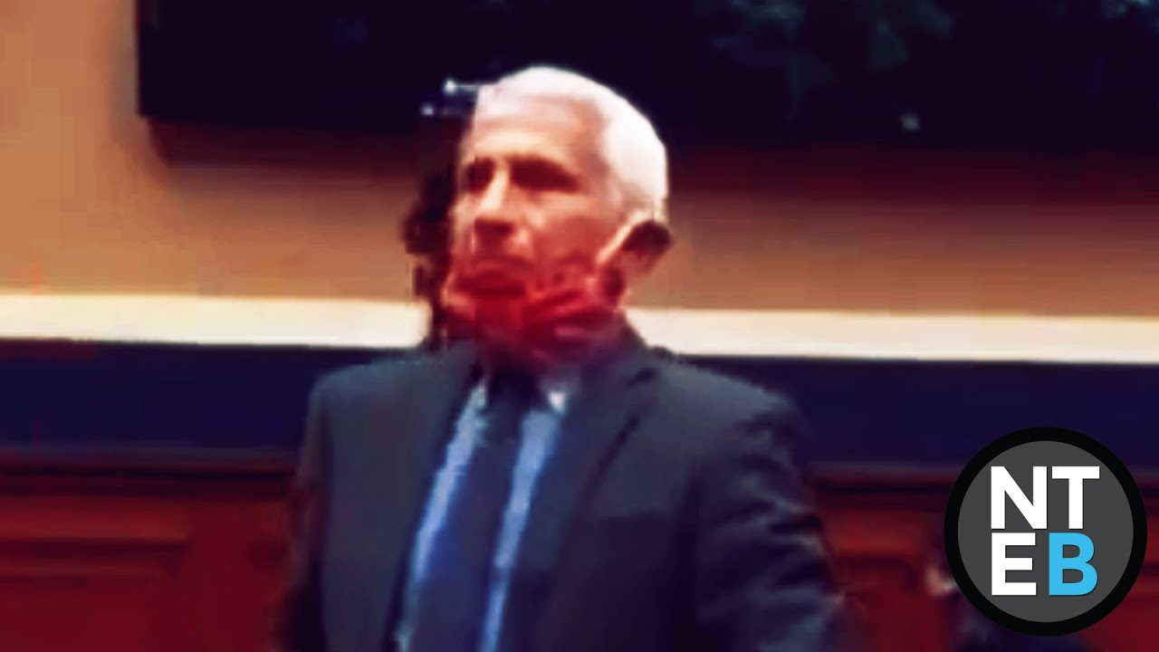 Phony Fauci Drops His Mask When Cameras Stop Rolling