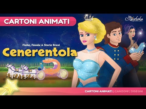 Cenerentola - Cinderella- (Nuovo) Cartone Animati | Storie per Bambini