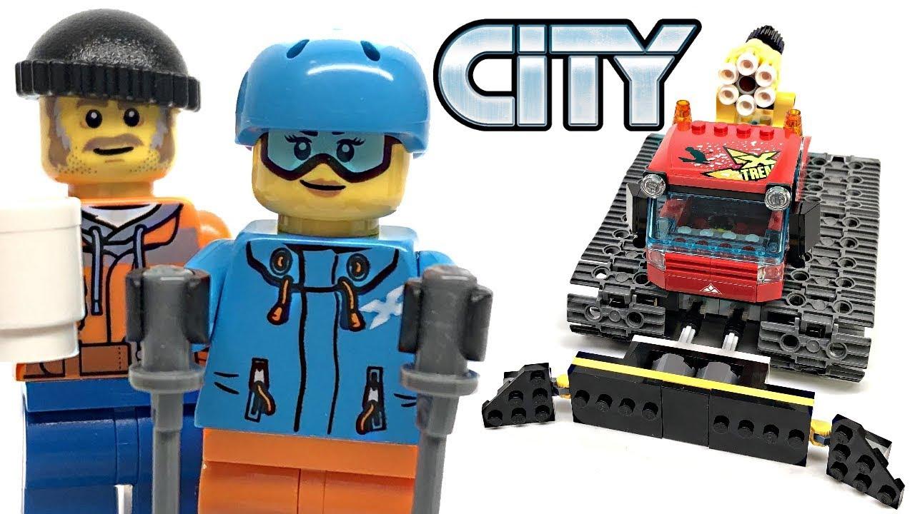 LEGO City LEGO Bau- & Konstruktionsspielzeug Snow Groomer Set