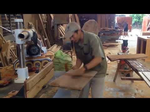 How To Make Bottom Of Wooden Cabinet - Magic Woodworking Fastest Building Easy