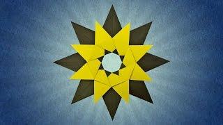Origami Tico Star (Maria Sinayskaya)