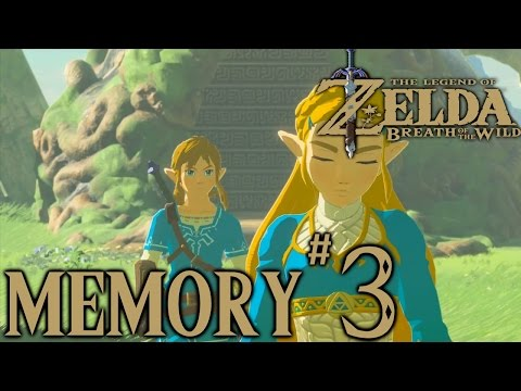 Zelda Breath Of The Wild Playthrough: Memory #3 (Ancient Columns)