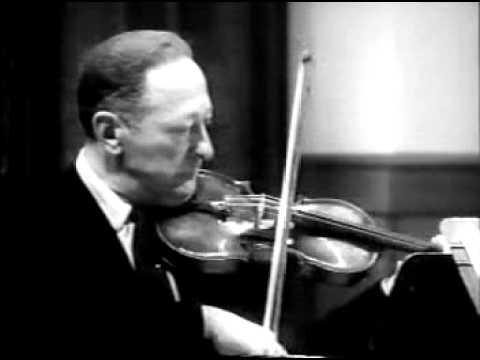 Jascha Heifetz - Masterclass 3 of 4